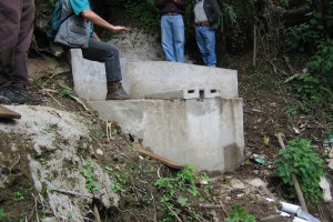 Spring Catchment System, Nicaragua