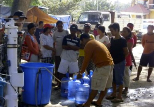 Disaster Relief Effort in the Philippines